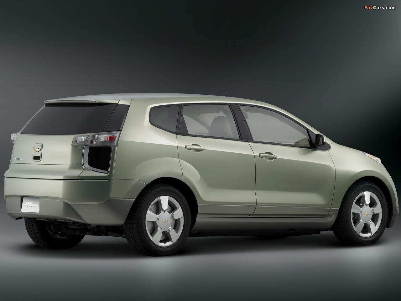 Chevrolet Sequel Concept 2006 pictures (1280 x 960)