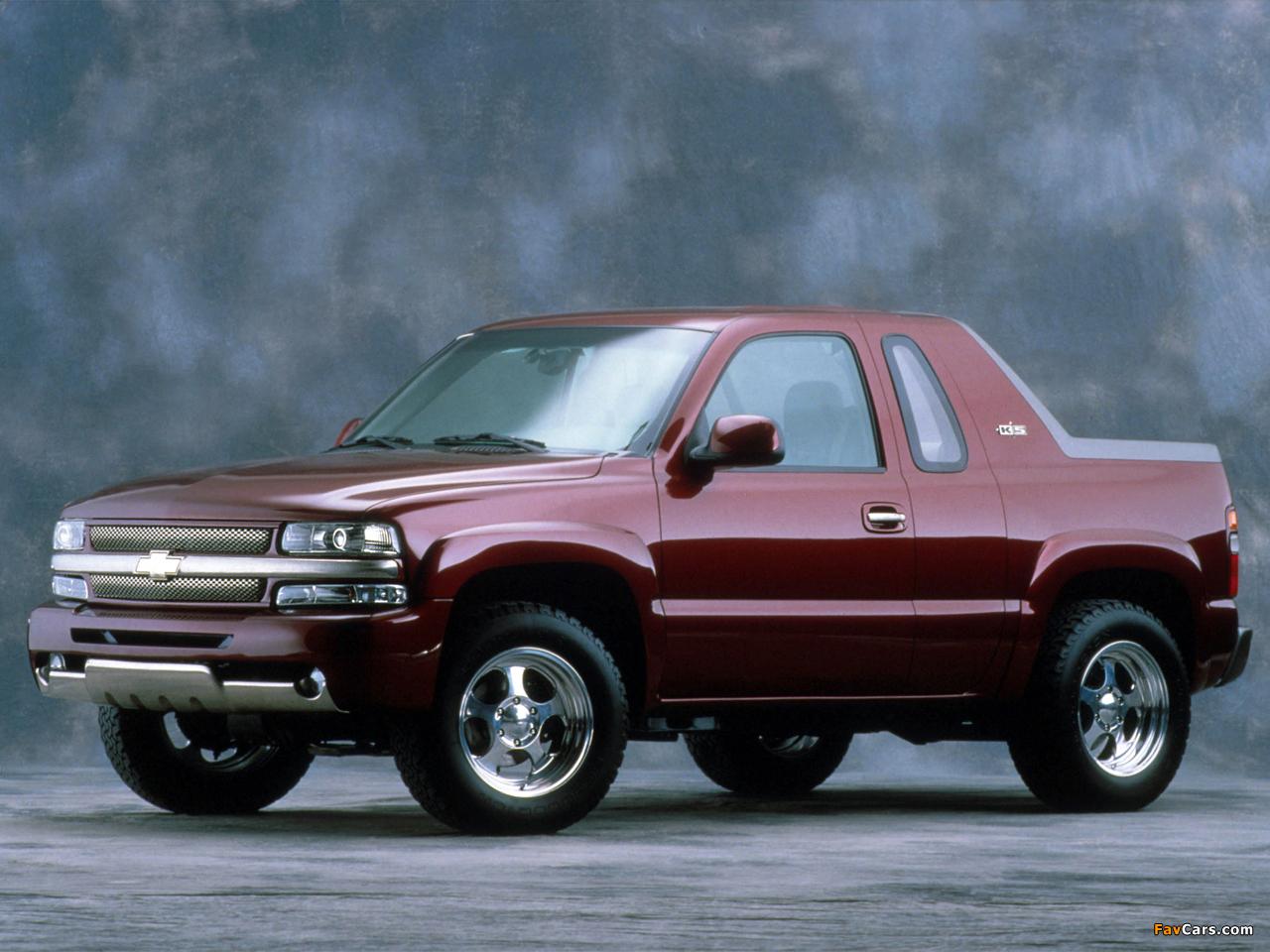 Images of Chevrolet K5 Concept 2001 (1280 x 960)