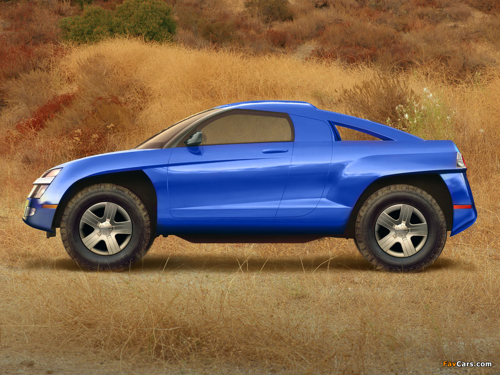 Images of Chevrolet Borrego Concept 2001 (1024 x 768)