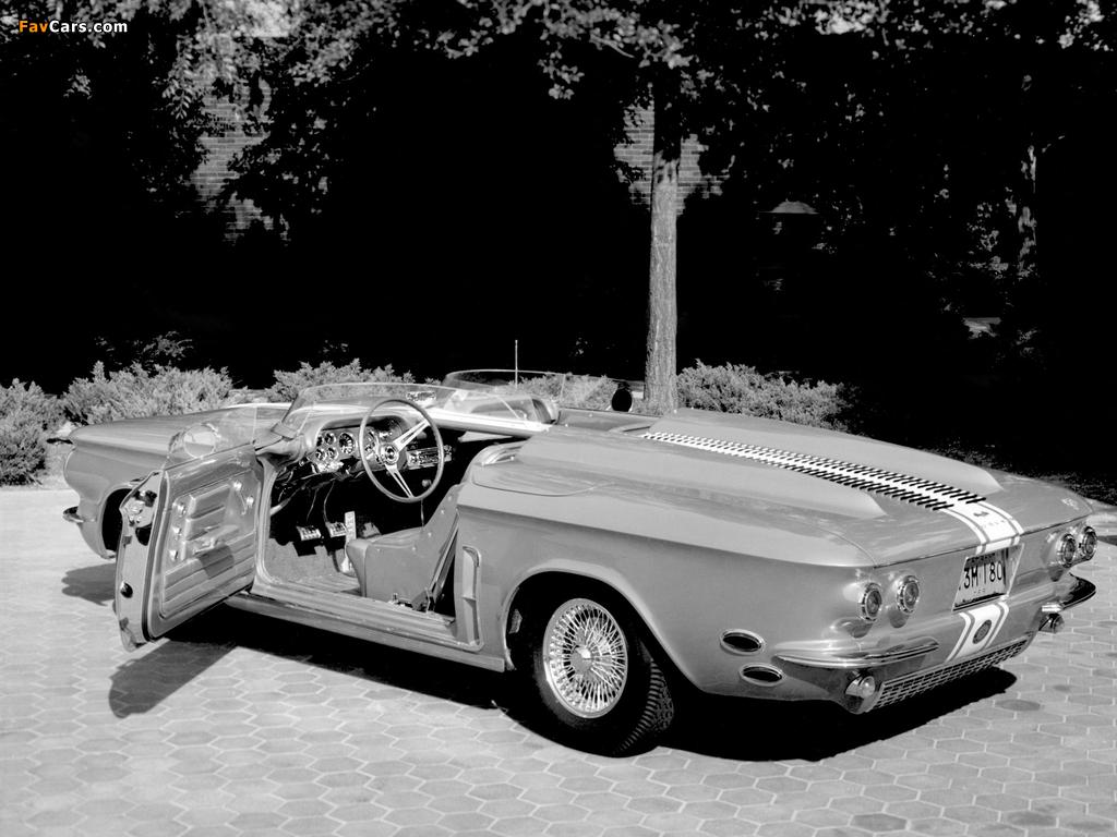 Photos of Chevrolet Corvair Super Spyder Concept Car 1962 (1024 x 768)