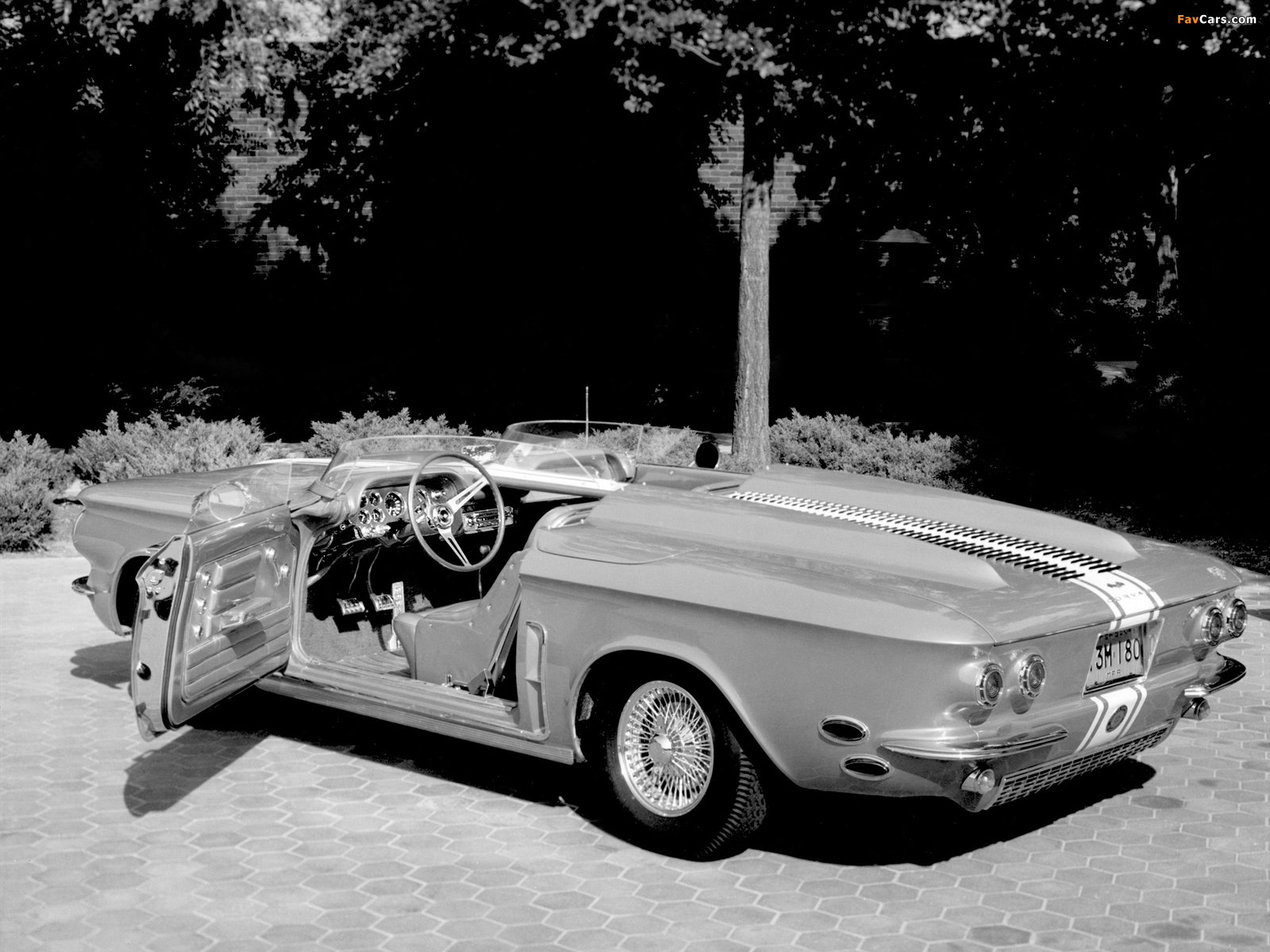 Photos of Chevrolet Corvair Super Spyder Concept Car 1962 (1600 x 1200)