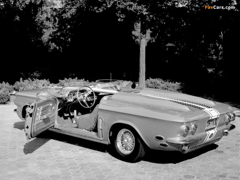 Photos of Chevrolet Corvair Super Spyder Concept Car 1962 (800 x 600)