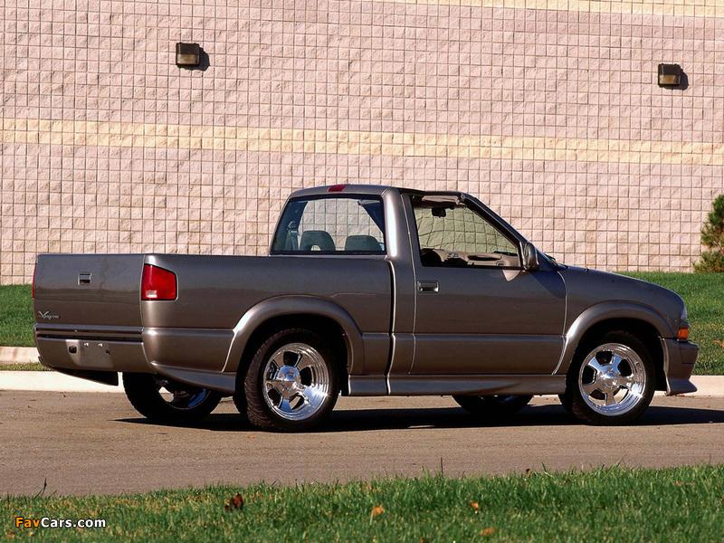 Photos of Chevrolet T-Top S-10 Xtreme Concept 2000 (800 x 600)