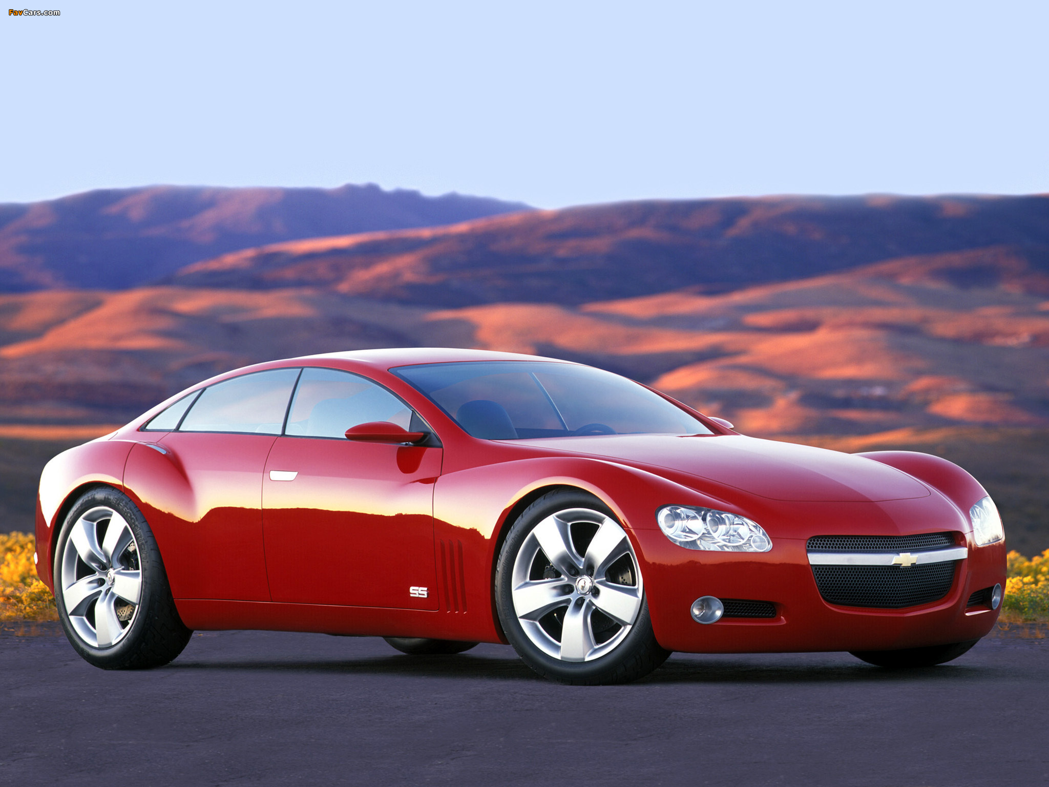 Photos of Chevrolet SS Concept 2003 (2048 x 1536)