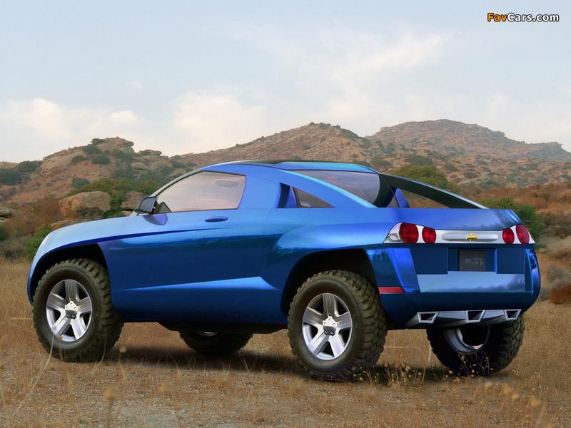 Chevrolet Borrego Concept 2001 wallpapers (800 x 600)