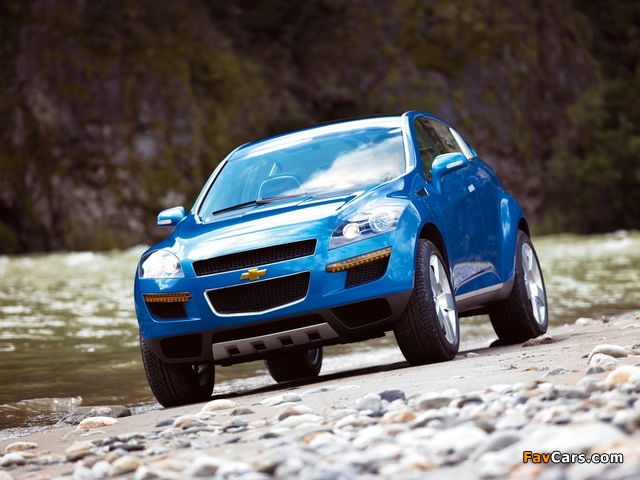 Chevrolet T2X Concept 2005 wallpapers (640 x 480)