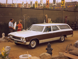 Chevrolet Chevelle Concours Wagon 1967 wallpapers