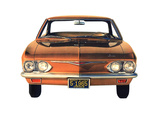 Chevrolet Corvair Monza Hardtop Coupe (05-37) 1965 images