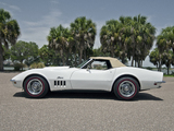 Chevrolet Corvette Stingray L88 Convertible (19467) 1969 wallpapers