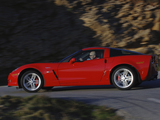 Chevrolet Corvette Z06 (C6) 2006–08 wallpapers