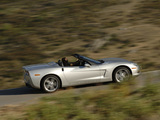 Photos of Chevrolet Corvette Convertible (C6) 2004–2013