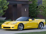 Photos of Chevrolet Corvette Grand Sport Convertible (C6) 2009–13