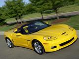 Chevrolet Corvette Grand Sport Convertible (C6) 2009–13 wallpapers