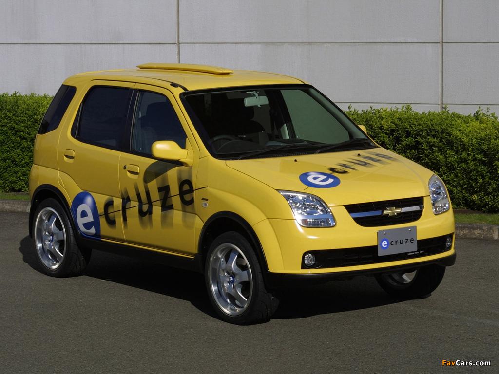 Chevrolet e-Cruze Concept 2001 pictures (1024 x 768)