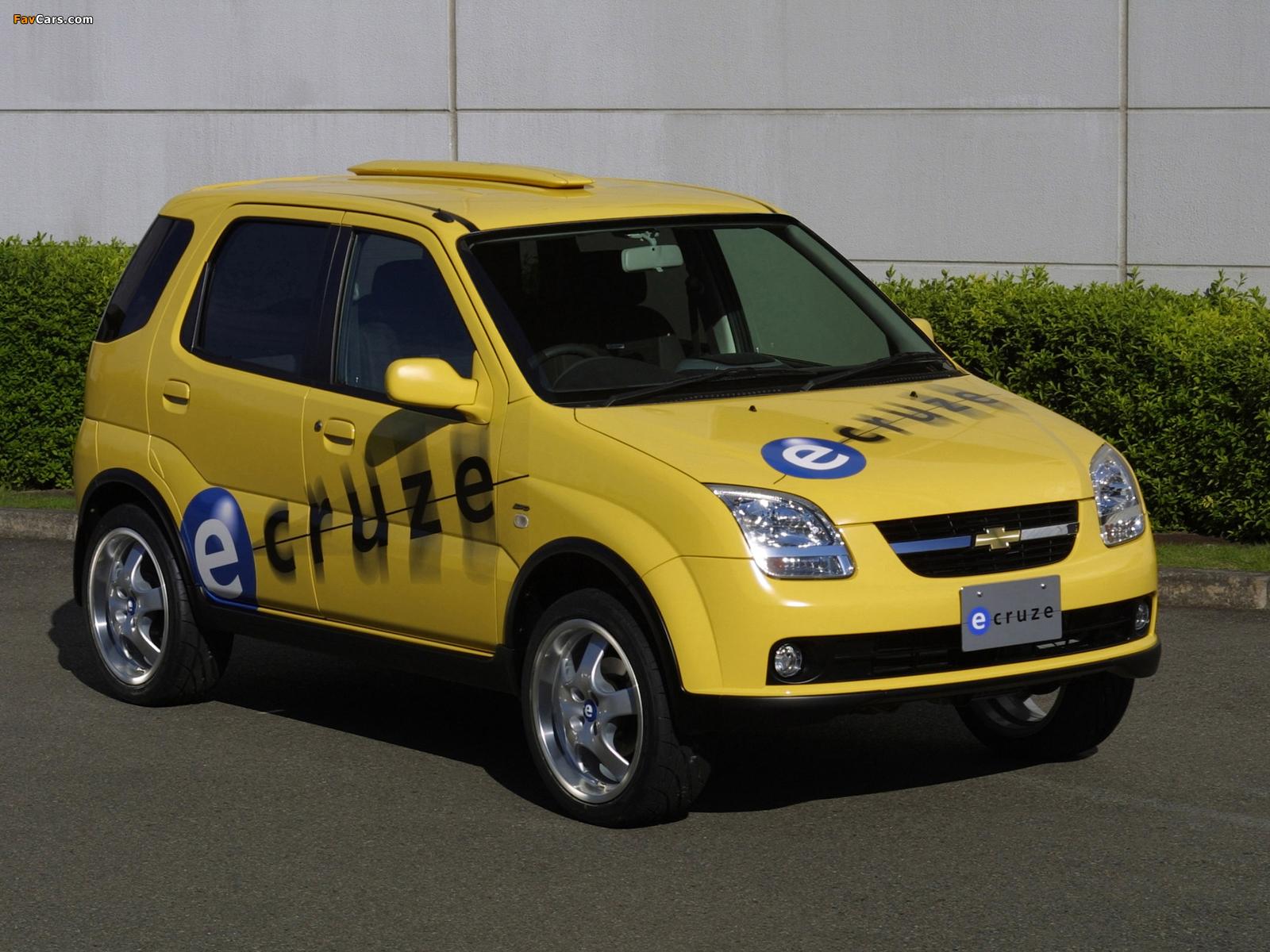 Chevrolet e-Cruze Concept 2001 pictures (1600 x 1200)