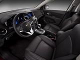 Chevrolet Cruze RS (J300) 2010 photos