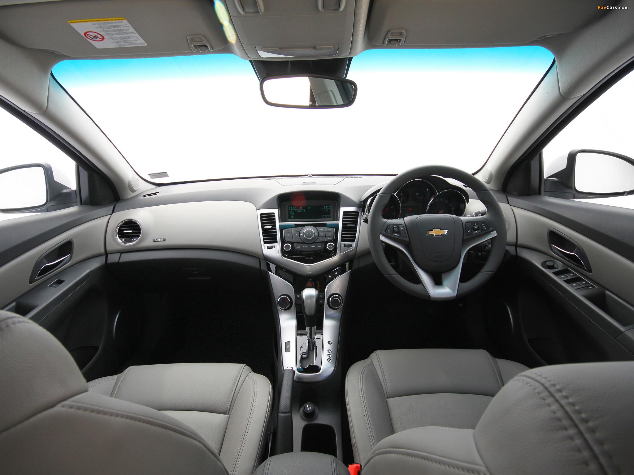 Chevrolet Cruze ZA-spec (J300) 2010–12 wallpapers (2048 x 1536)