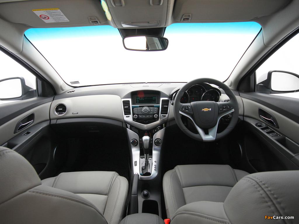 Chevrolet Cruze ZA-spec (J300) 2010–12 wallpapers (1024 x 768)