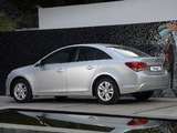 Chevrolet Cruze ZA-spec (J300) 2012 wallpapers