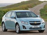 Chevrolet Cruze Hatchback ZA-spec (J300) 2012 wallpapers