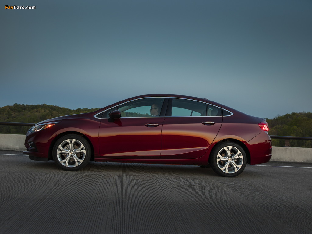 Chevrolet Cruze Premier North America 2016 pictures (1024 x 768)
