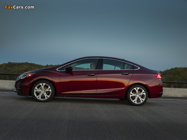 Chevrolet Cruze Premier North America 2016 pictures (640 x 480)
