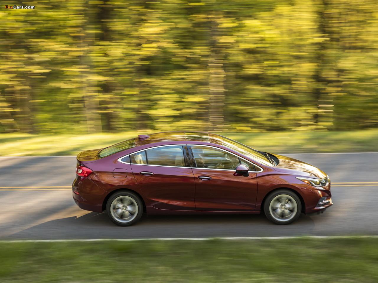 Chevrolet Cruze Premier North America 2016 pictures (1280 x 960)