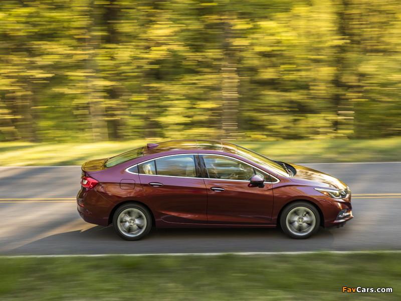 Chevrolet Cruze Premier North America 2016 pictures (800 x 600)