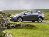 Images of Chevrolet Cruze Hatchback UK-spec (J300) 2011–12