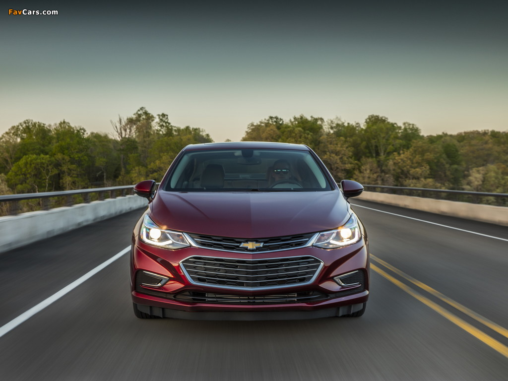 Images of Chevrolet Cruze Premier North America 2016 (1024 x 768)