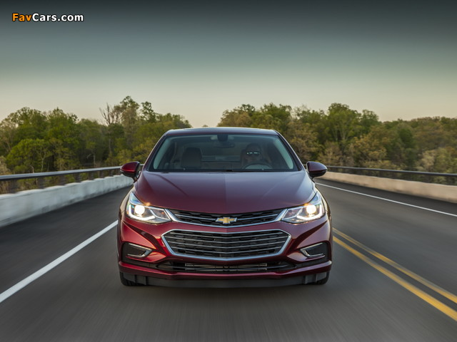 Images of Chevrolet Cruze Premier North America 2016 (640 x 480)