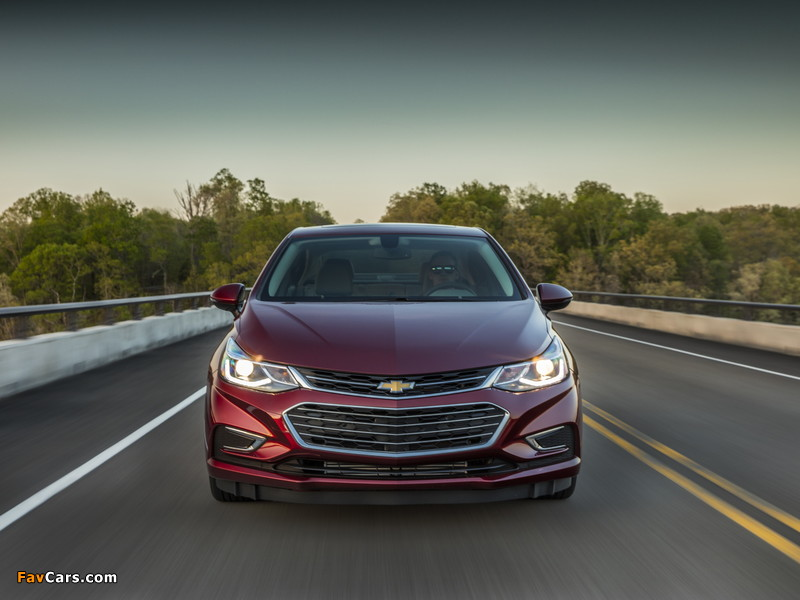 Images of Chevrolet Cruze Premier North America 2016 (800 x 600)