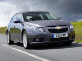 Photos of Chevrolet Cruze Hatchback UK-spec (J300) 2011–12