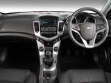 Photos of Chevrolet Cruze Hatchback ZA-spec (J300) 2012