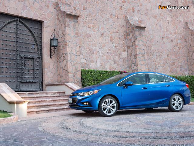 Photos of Chevrolet Cruze Premier North America 2016 (640 x 480)