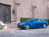 Photos of Chevrolet Cruze Premier North America 2016