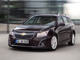 Pictures of Chevrolet Cruze Station Wagon (J300) 2012