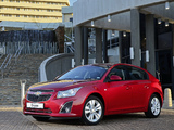 Pictures of Chevrolet Cruze Hatchback ZA-spec (J300) 2012