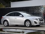 Chevrolet Cruze ZA-spec (J300) 2012 wallpapers