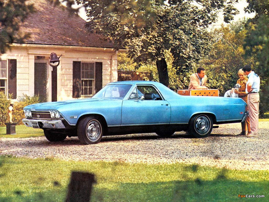 Chevrolet El Camino Ss 1968 Wallpapers 1024x768 1024 X 768