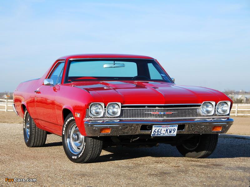 Chevrolet El Camino 1968 Images 800x600