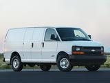 Chevrolet Express Cargo Van 2002 photos