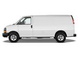 Images of Chevrolet Express Cargo Van 2002