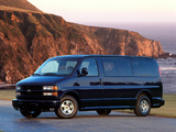 Chevrolet Express 1996–2002 wallpapers