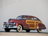 Chevrolet Fleetline Aerosedan Country Club Woody 1948 photos