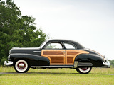 Chevrolet Fleetmaster Country Club Sport Coupe 1947 wallpapers