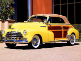 Chevrolet Fleetmaster Country Club Convertible 1948 pictures