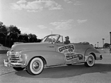 Chevrolet Fleetmaster Convertible Indy 500 Pace Car 1948 wallpapers