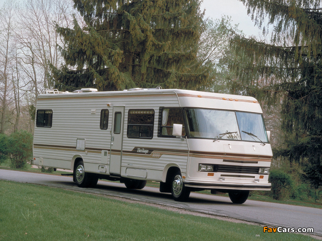 Images of Chevrolet Heritage 2000 Motorhome 1985 (640 x 480)
