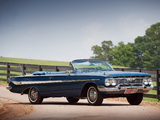Chevrolet Impala SS 409 Convertible 1961 photos